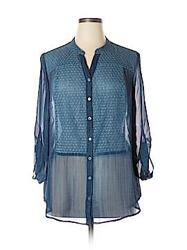 Joseph Ribkoff 3/4 Sleeve Blouse Size 14