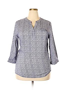 Anne Carson 3/4 Sleeve Blouse Size XL