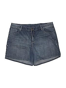 Lane Bryant Denim Shorts Size 20 (Plus)