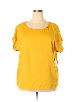 Boutique + Short Sleeve Top Size 1X (Plus)