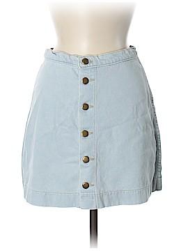 American Apparel Denim Skirt Size M