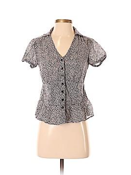 Isaac Mizrahi for Target Short Sleeve Button-Down Shirt Size S