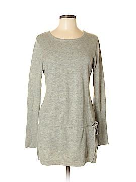 Aqua Silk Pullover Sweater Size M