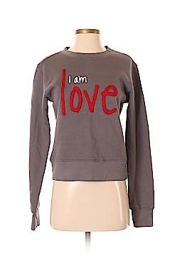 Peace Love World Sweatshirt Size S