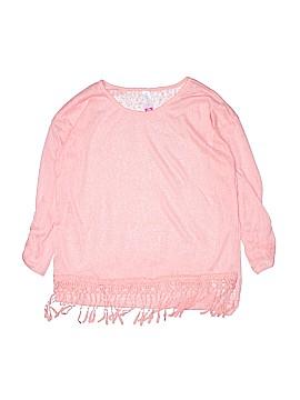No Boundaries 3/4 Sleeve Blouse Size 11-13