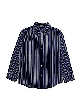 Van Heusen Long Sleeve Button-Down Shirt Size 8