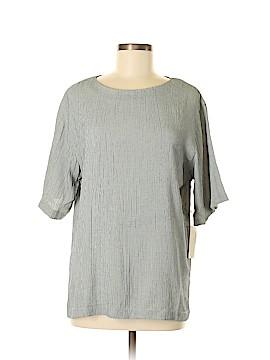Rafaella Short Sleeve Blouse Size M