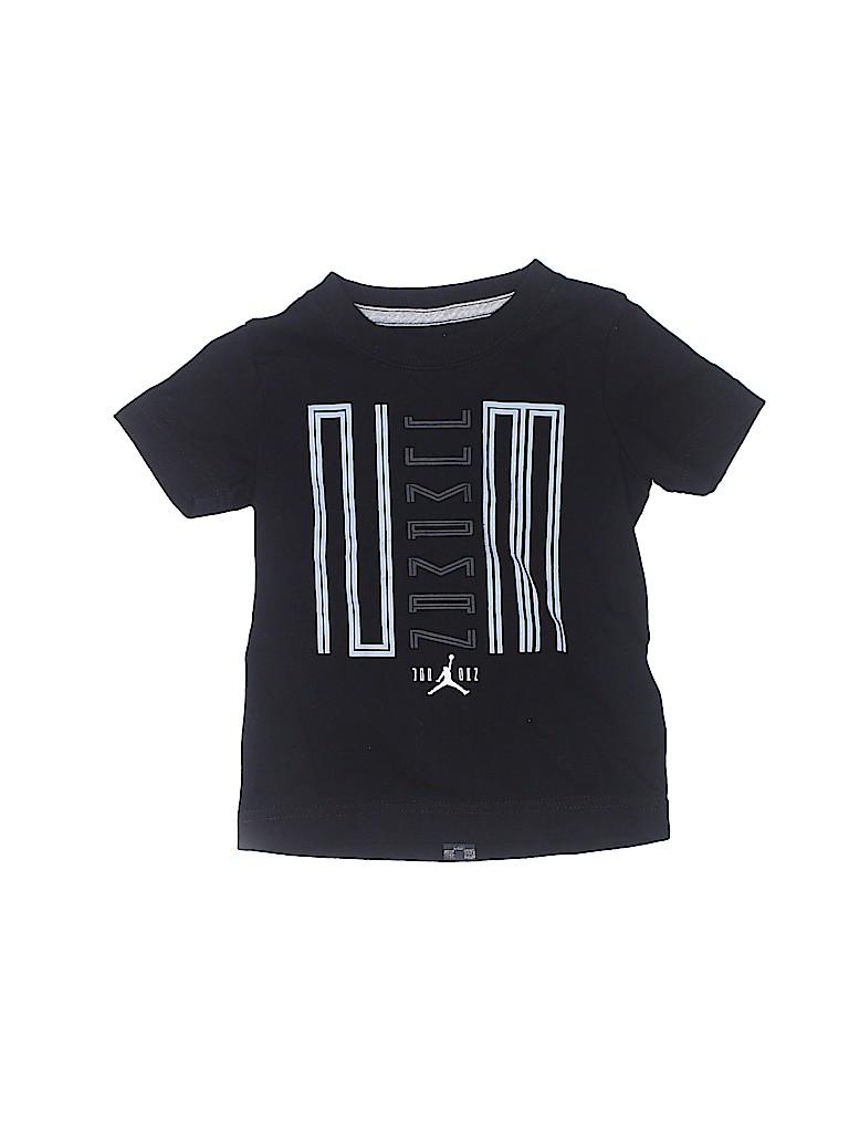aa89756cb23612 Jordan Graphic Black Short Sleeve T-Shirt Size 2T - 90% off