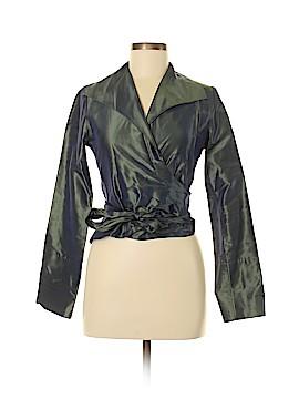 PAUW Long Sleeve Silk Top Size 1