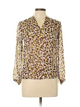 Pendleton Long Sleeve Silk Top Size 4