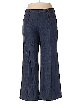 Garnet Hill Jeans Size 14