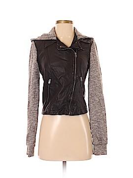 Hollister Faux Leather Jacket Size XS