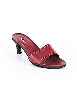 Bass Heels Size 8