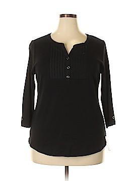 Karen Kane 3/4 Sleeve Top Size 0X (Plus)