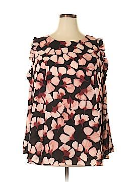 Alfani Long Sleeve Blouse Size 20 (Plus)