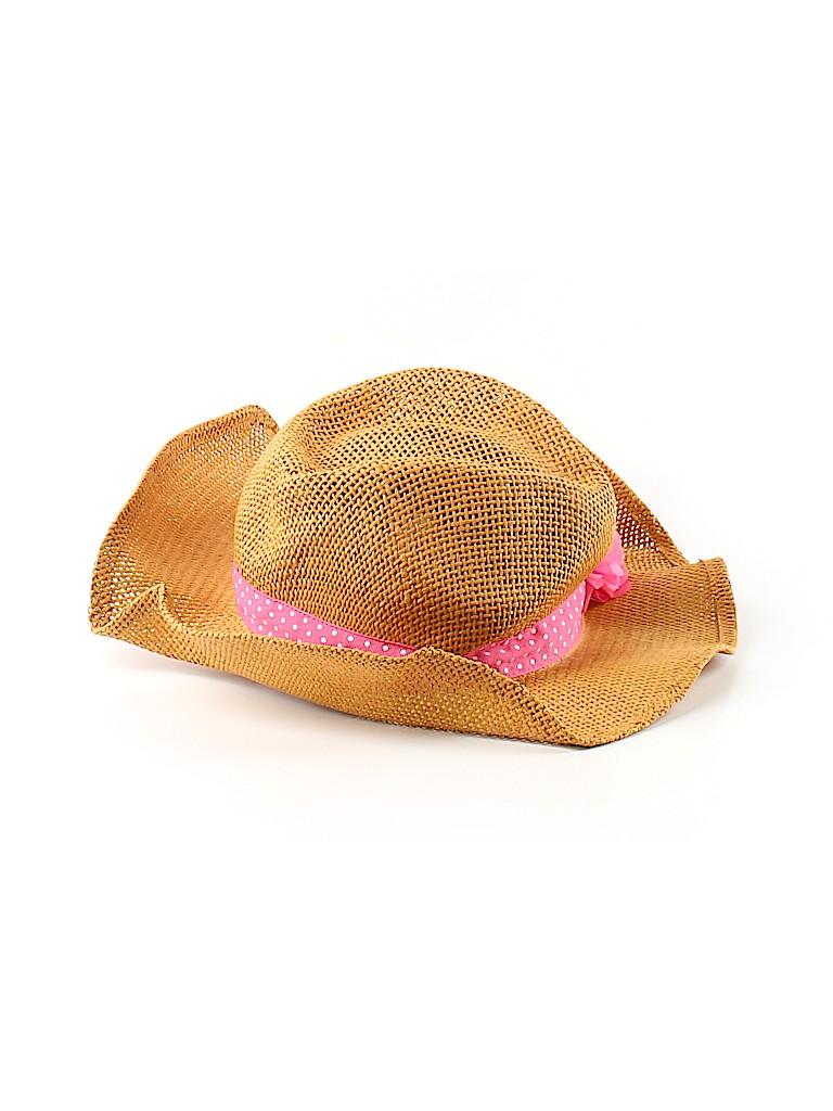 Crazy 8 Solid Orange Sun Hat Size Medium kids - Large kids - 80% off ... 0714c170c45