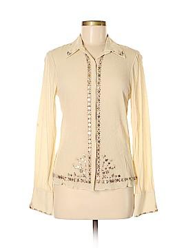 Elie Tahari Long Sleeve Blouse Size M