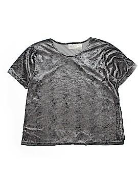 Kathie Lee Short Sleeve Blouse Size 18 (Plus)