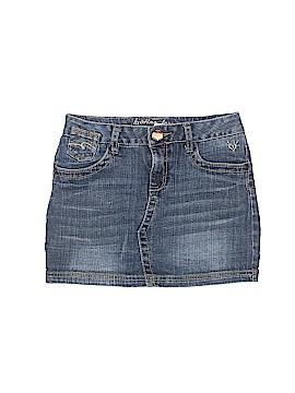 Justice Jeans Denim Skirt Size 10