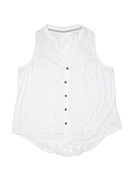 Xhilaration Sleeveless Button-Down Shirt Size XXL