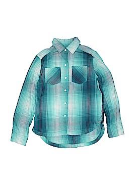 Mudd Long Sleeve Button-Down Shirt Size 8