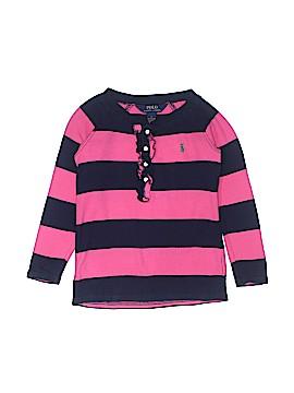 Polo by Ralph Lauren Long Sleeve Henley Size 6