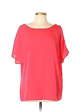Anne Klein Short Sleeve Blouse Size XL