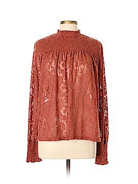 Deletta Long Sleeve Blouse Size XL