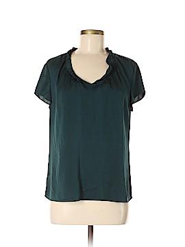 BOSS by HUGO BOSS Short Sleeve Silk Top Size 6