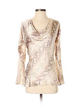 BOSS by HUGO BOSS Long Sleeve Silk Top Size 0