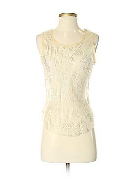 Rozae Nichols Sleeveless Silk Top Size S