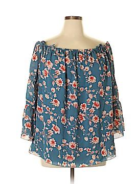 Jessica Simpson 3/4 Sleeve Blouse Size 1X (Plus)