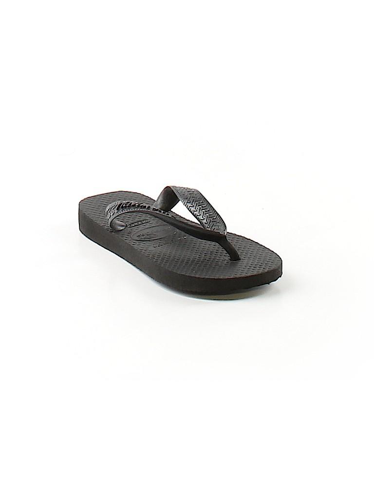 b7392fba2b7f7b Havaianas Solid Black Flip Flops Size 10 - 66% off