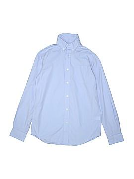 Class Club Long Sleeve Button-Down Shirt Size 14 - 16
