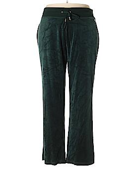 Calvin Klein Velour Pants Size 2X (Plus)
