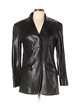 Giorgio Sant'Angelo Leather Jacket Size M