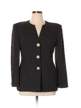 Oleg Cassini Wool Coat Size 12