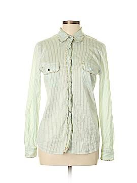 Weekend Max Mara Long Sleeve Button-Down Shirt Size L