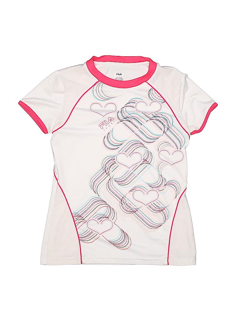 Fila Girls Active T-Shirt Size 14 - 16