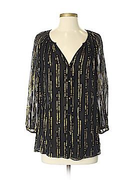 Shoshanna Long Sleeve Silk Top Size 4
