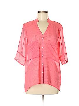 Yoana Baraschi Short Sleeve Blouse Size M