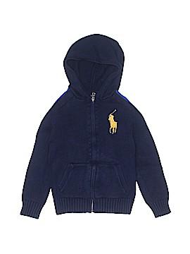 Polo by Ralph Lauren Zip Up Hoodie Size 7