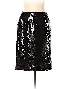 INC International Concepts Silk Skirt Size 10 (Petite)