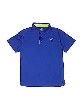 Puma Short Sleeve Polo Size M (Youth)