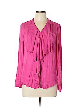 Tylho Long Sleeve Button-Down Shirt Size L