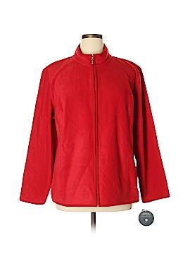 Karen Scott Sport Fleece Size 1X (Plus)