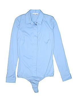 Patrizia Pepe Long Sleeve Button-Down Shirt Size 42 (IT)