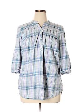 Fashion Bug 3/4 Sleeve Blouse Size 14/16W