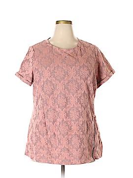 Ruff Hewn Short Sleeve Top Size 2X (Plus)