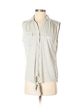 Liz Claiborne Sleeveless Button-Down Shirt Size M